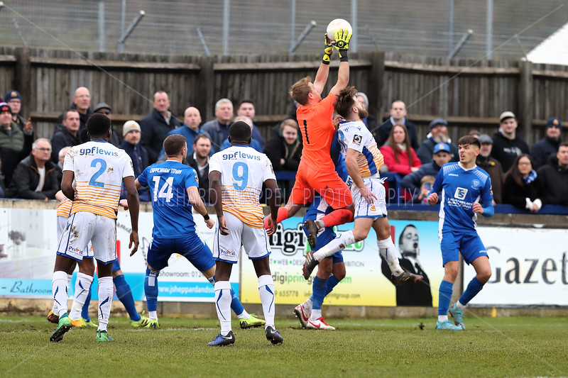 CHIPPENHAM TOWN V WEALDSTONE MATCH PICTURES 14th MARCH 2020