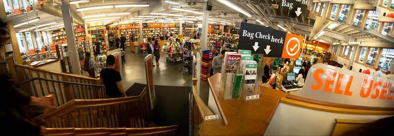... Powell's is simply too large to photograph.