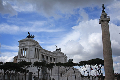Rome - Buildings, statues and streets