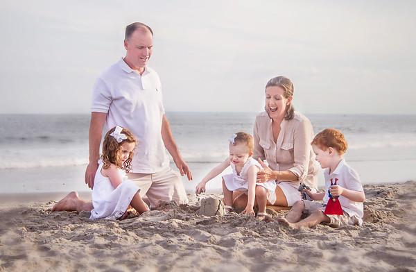 Gilroy Family - Beach Portraits