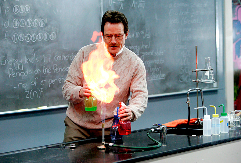 . <p>6. HIGH SCHOOL CHEMISTRY <p>Respect it � even if you got a C-minus.