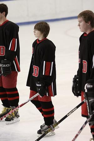 LC vs Dunbar Varsity Hockey