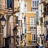 Alleyway Lamps, Cadíz, Spain