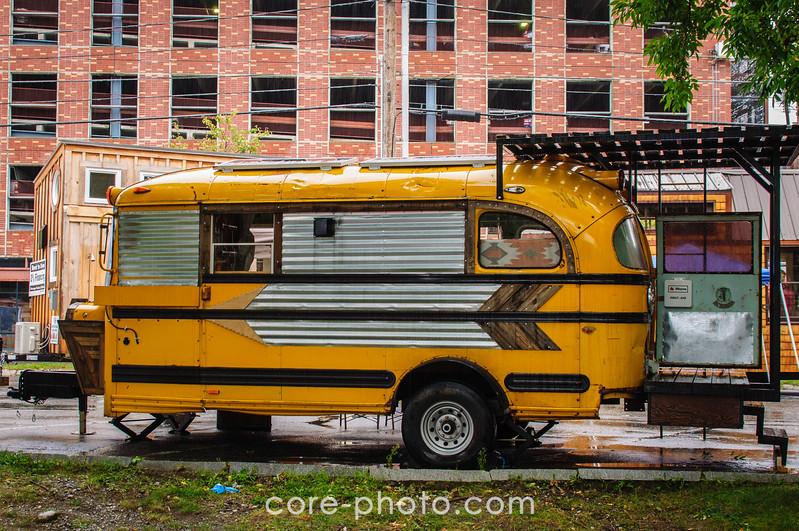 Tiny Bus Big Adventure  Wayne