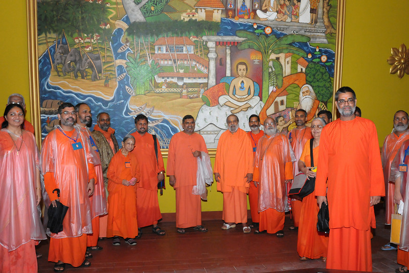 "Walk inside the ""Journey with the Master"" at Chinmaya Vibhooti. Chinmaya Mission's Aacharya Conference, July 2008 held at Chinmaya Vibhooti Vision Centre, Kolwan (near Lonavala/Pune), Maharashtra, India."