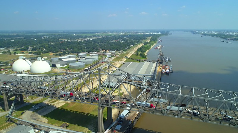 Aerial Port of Greater Baton Rouge Louisiana