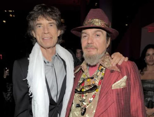 "(EXCLUSIVE, Premium Rates Apply) NEW YORK - MAY 11:  *Exclusive*  Mick Jagger and Dr John attend the screening of ""Stones in Exile"" at The Museum of Modern Art on May 11, 2010 in New York City. The documentary celebrates the May 18, 2010 re-release of ""Exile on Main Street,"" one of the greatest albums in rock n' roll history with 10 never-before heard tracks. **Editorial sales only, not available for commercial or book publishing use worldwide**  (Photo by Kevin Mazur/WireImage for Rogers & Cowan)"
