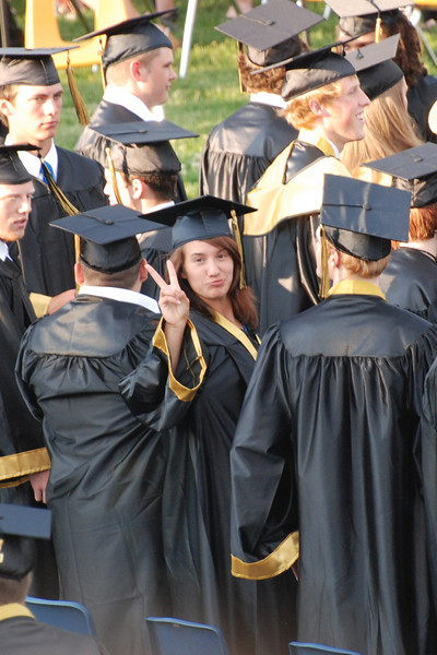 Mt Vernon H.S. graduation