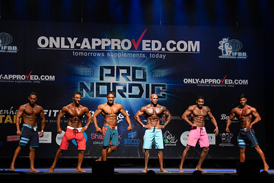 Pro Qualifier Mens Physique Over 174 and up to 177 cm