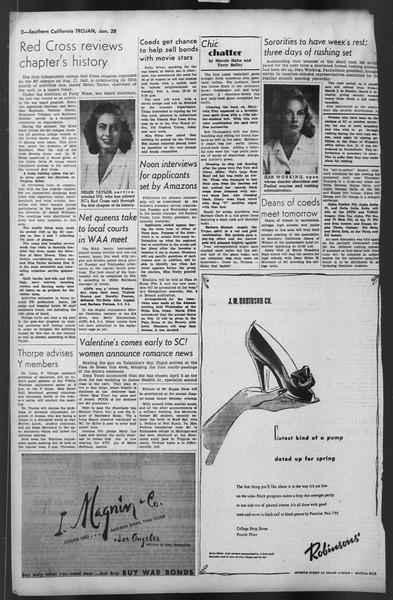 The Trojan, Vol. 35, No. 78, January 28, 1944