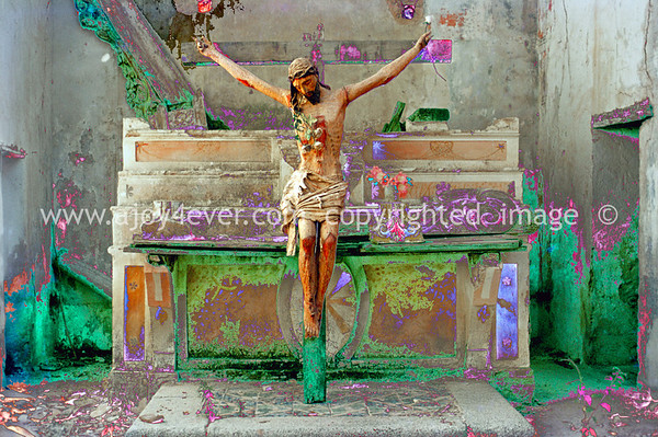 "029_""ajoy4ever"" MY FAVORITES religion""archival""artistic_beauty created within ""religious"" images 'crucifixion of christ'"