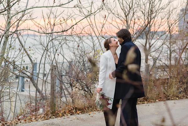 Corina & Camilo Brooklyn Pier Elopement