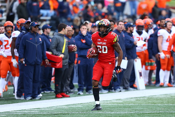 20181027 College Football Illinois at Maryland