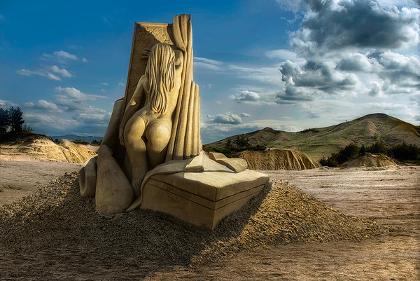 Sand Sculptures Revisited