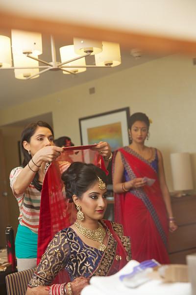 Le Cape Weddings - Indian Wedding - Day 4 - Megan and Karthik Bride Getting Ready 14.jpg