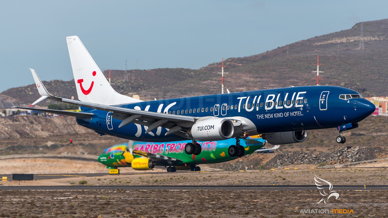Tuifly / Boeing B737-8K5 / D-ATUD / TUI Blue Livery