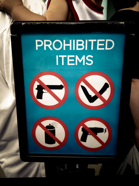 911 memorial prohibited items.jpg
