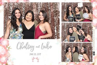 Chelsey & Luke's Wedding (Mini LED Open Air Photo Booth)
