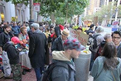 Occupy San Francisco - Protest at the Federal Reserve