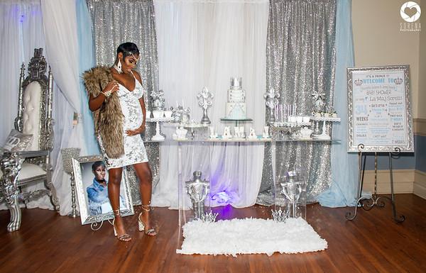 Sneak Peek Stannisha & Jamal's Royal Baby Shower