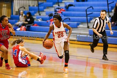 Girls Varsity Basketball v TC Williams 1/24/15