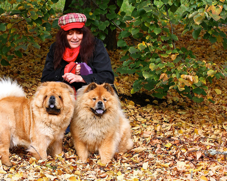 A WALK IN WASHINGTON PARK, 10-28-11 Thanks for taking this one Steve!  They blend in the with leaves. Good thing I had my Andy Capp cap and red scarf on!