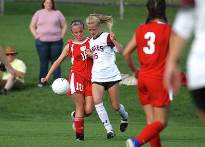 AMHS Varsity Girls Soccer vs LTS II photos by Gary Baker
