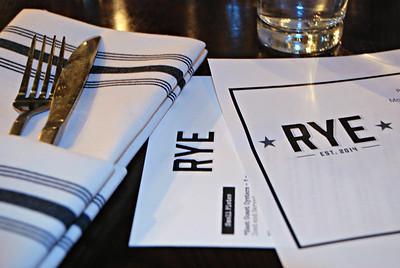 2015 02 28: Rye Restaurant, Appleton WI