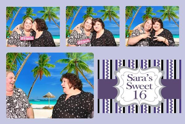 Sara's Sweet 16 Birthday Party