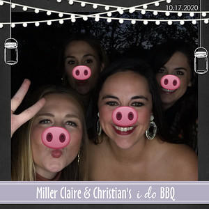 Miller Claire & Christian's Engagement Party 10.17.20 @ Mandeville Residence
