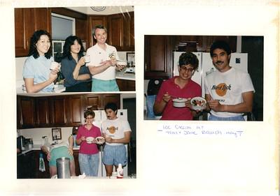 5-7-1989 Ice Cream @ Tom & Jane Bauch