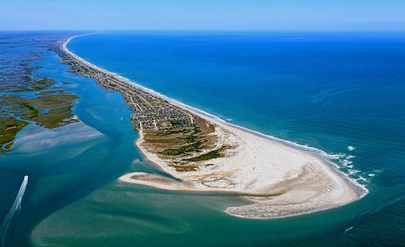 Topsail Island (south tip)