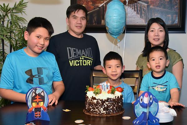 Henry's 7th Birthday