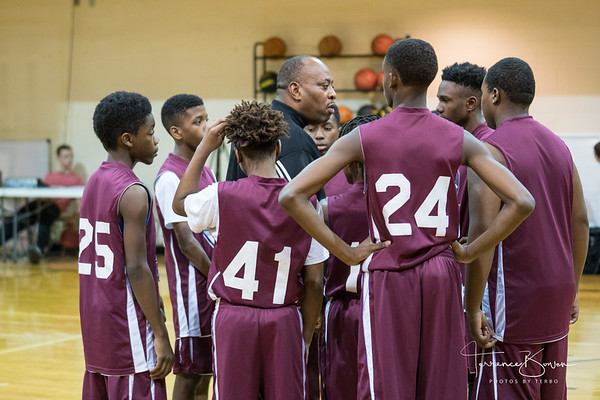 Lithonia Adventist Basketball -Game 1