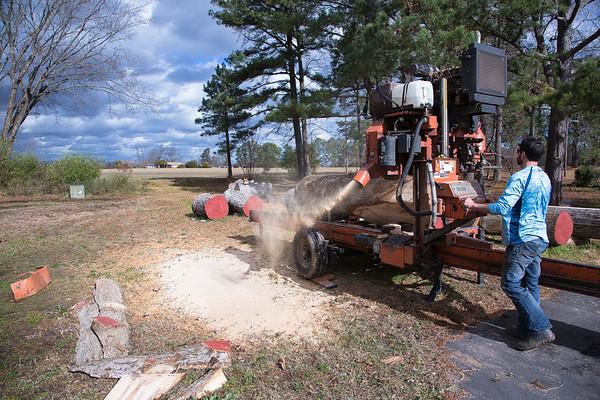 Logs to Lumber (wake tech)