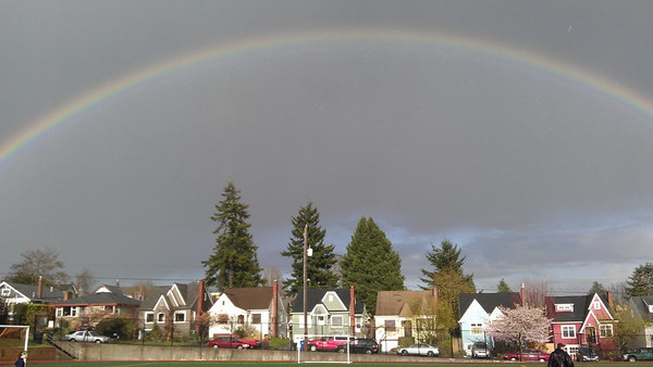 Amazing Rainbow, April 3, 2012