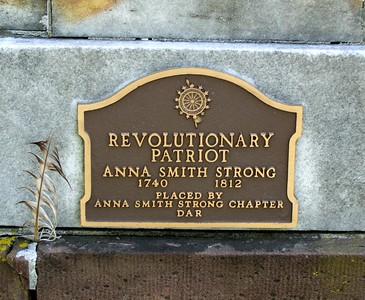 Anna Smith Strong Grave *