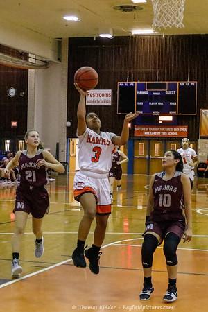 Girls Varsity Basketball v Mount Vernon 1/22/19