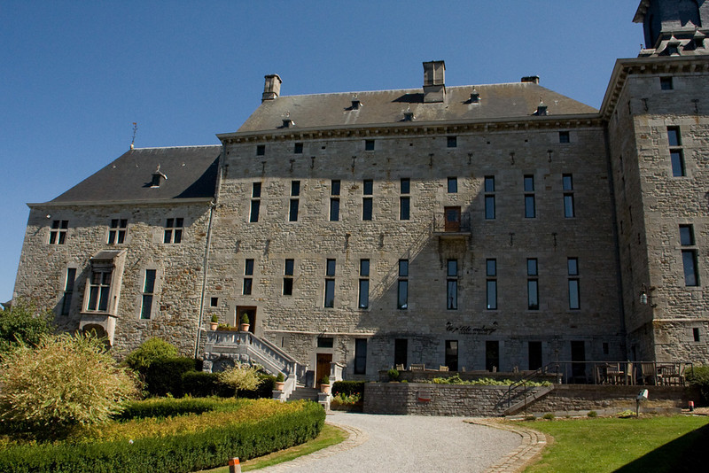 Chateau in the town of
