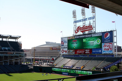 2011 OSU State Tour - Cleveland Indians - August 26th