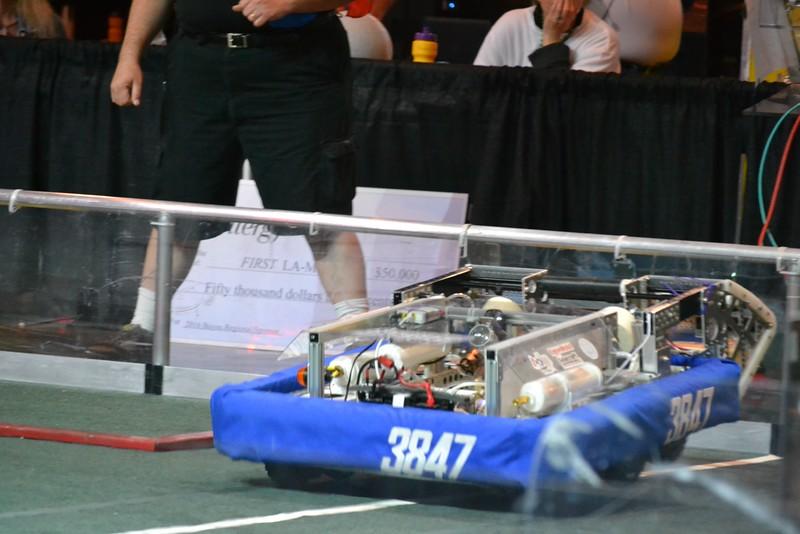 2016 First Bayou Regional Robotics Competition - Bouvier - 698