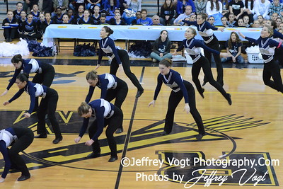 02-01-2014 Magruder HS Poms MCPS County Championship Division 1,  Photos by Jeffrey Vogt Photography & Kyle Hall