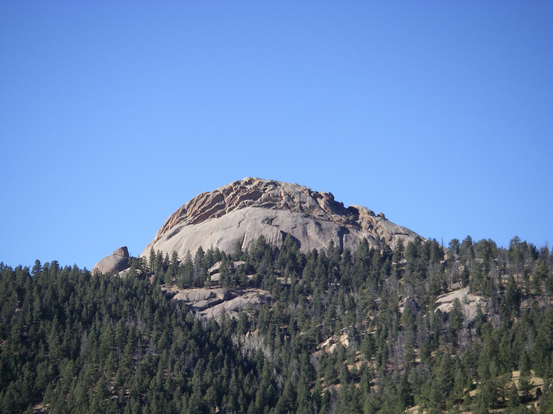 I believe this dome is just outside the Dome Rock SWA (State Wildlife Area).