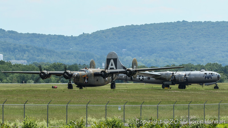 WWII Weekend 6/7/15 Sun Airshow - Reading, PA