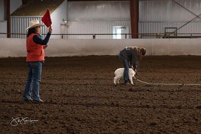 Short Go Finals Goat Tying
