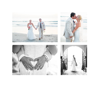 La Jolla Beach Intimate Wedding Reception - Cuvier Park and La Jolla Shores