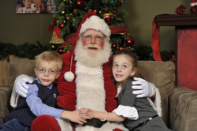 Santa Photos - Saturday Morning 9:30am to 11:45am