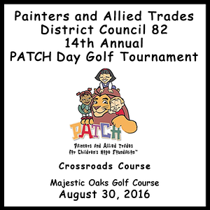 PATCH 14th Annual Golf Tournament  Aug. 30, 2016 Crossroads  Course