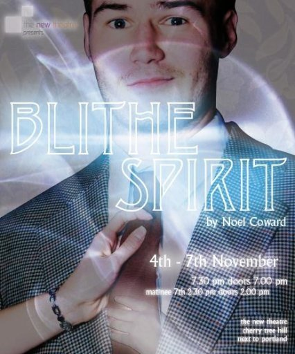 Blithe Spirit poster