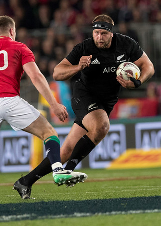 Joe Moody during game 7 of the British and Irish Lions 2017 Tour of New Zealand, the first Test match between  The All Blacks and British and Irish Lions, Eden Park, Auckland, Saturday 24th June 2017 (Photo by Kevin Booth Steve Haag Sports)  Images for social media must have consent from Steve Haag